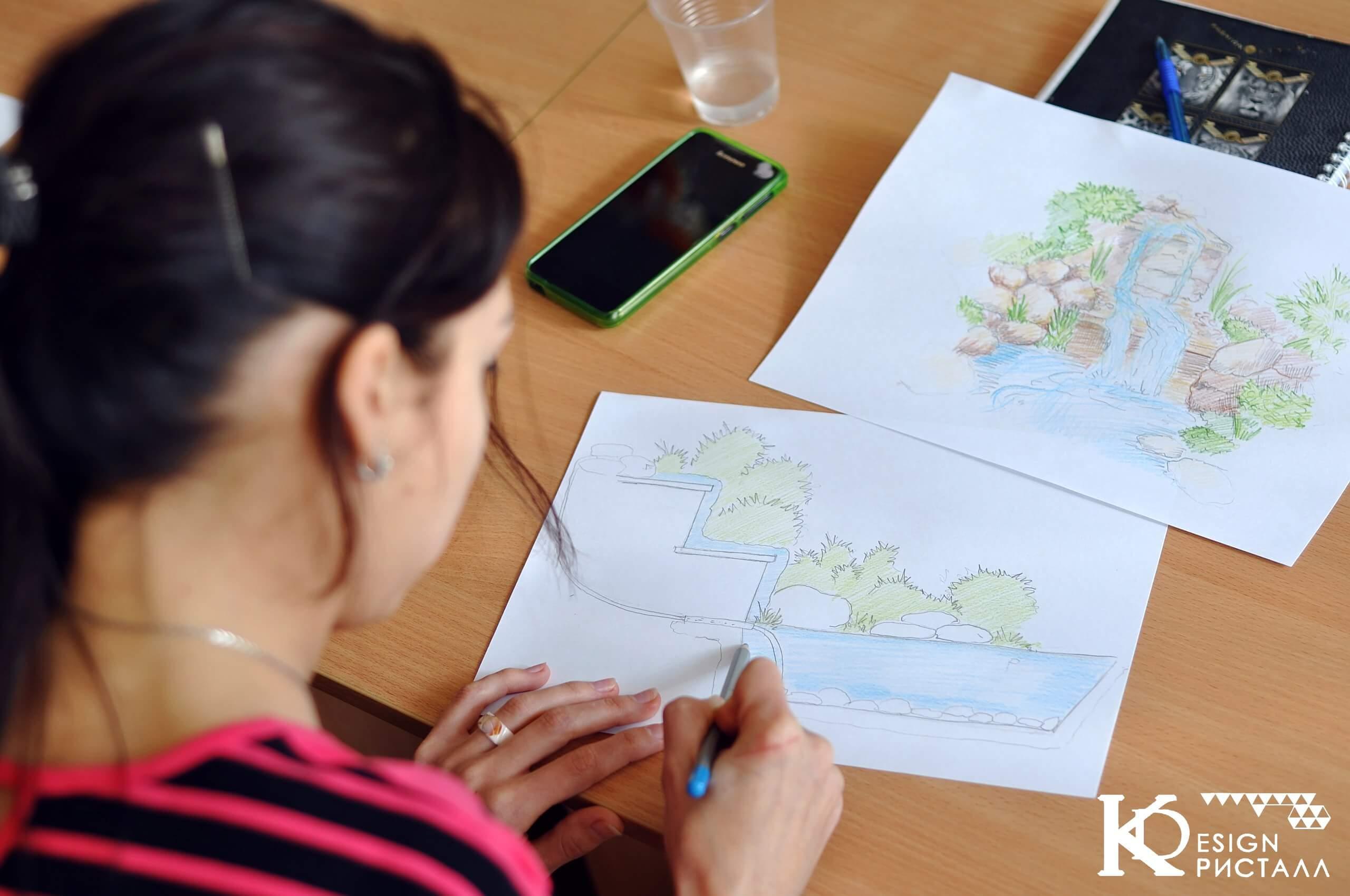 Ландшафтный дизайн. Проектирование водоёмов.