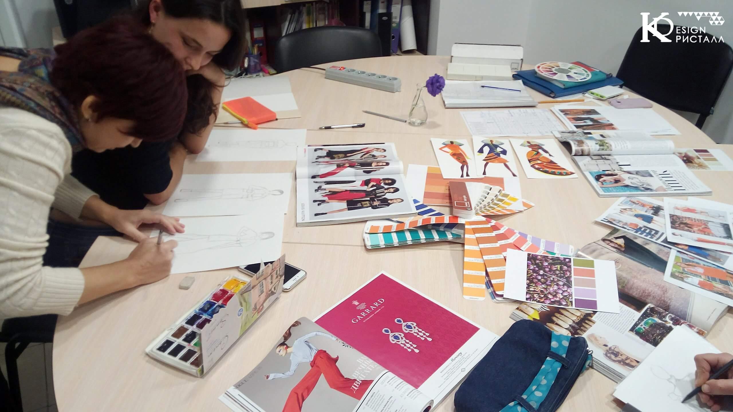 Дизайн одежды. Цвет! Анализируем и учимся.
