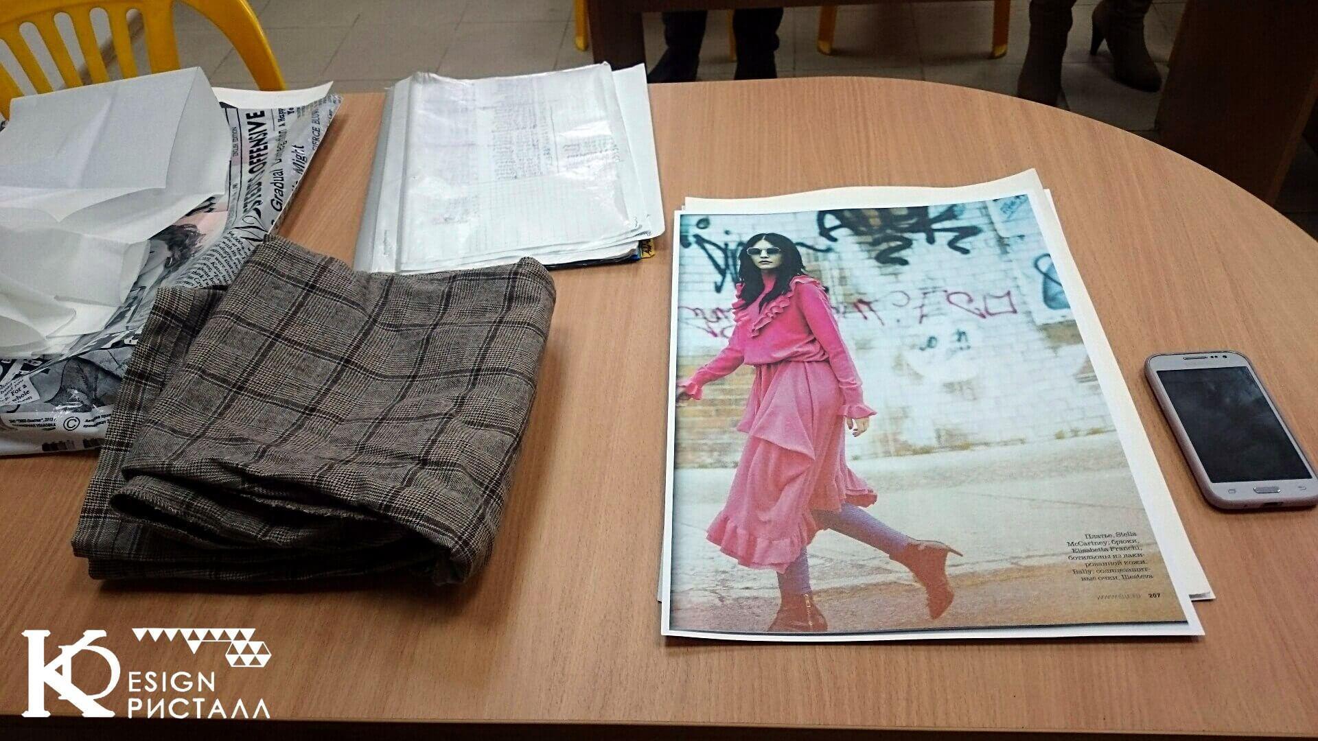 Дизайн одежды. Выбираем идею fashion - иллюстрации.