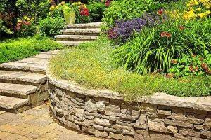 ландшафтный дизайн - лестница